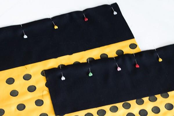 03-Shopper Nähanleitung Boden und Seitenteile zusammenstecken klein