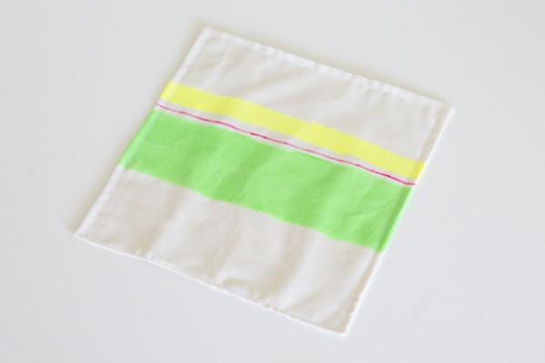 Serviette grün klein