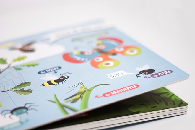 Kinderbuch Hallo Tiere von Kathrin Wessel
