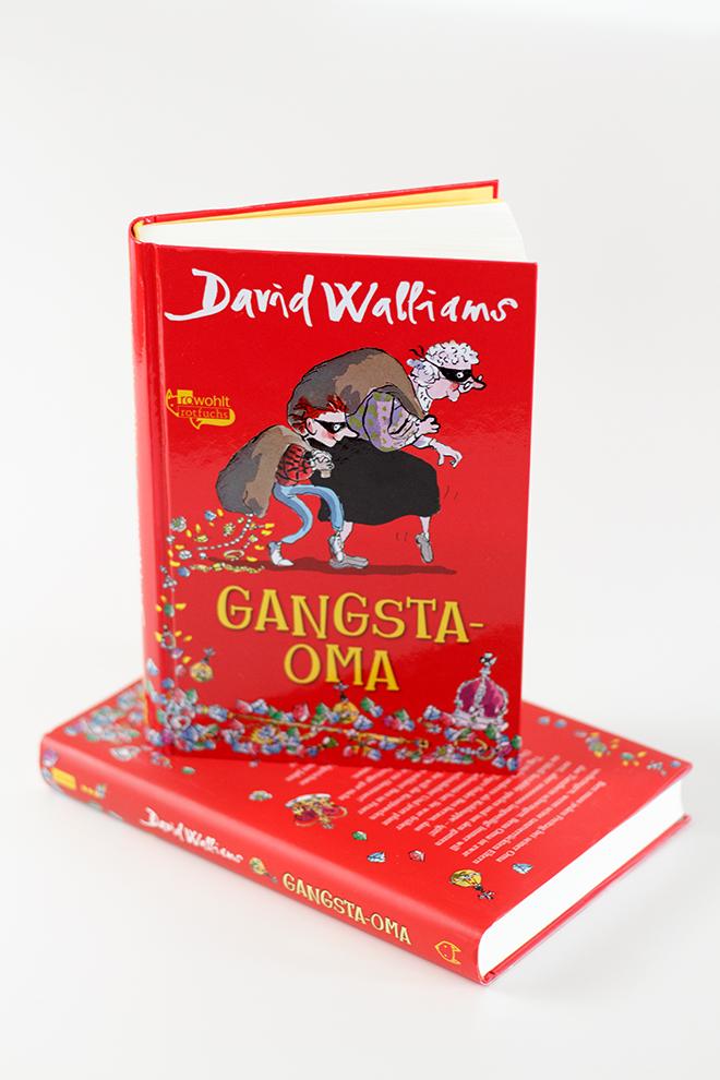 Buchrezension Gangsta-Oma von David Williams erschienen´im rowohlt rotfuchs Verlag