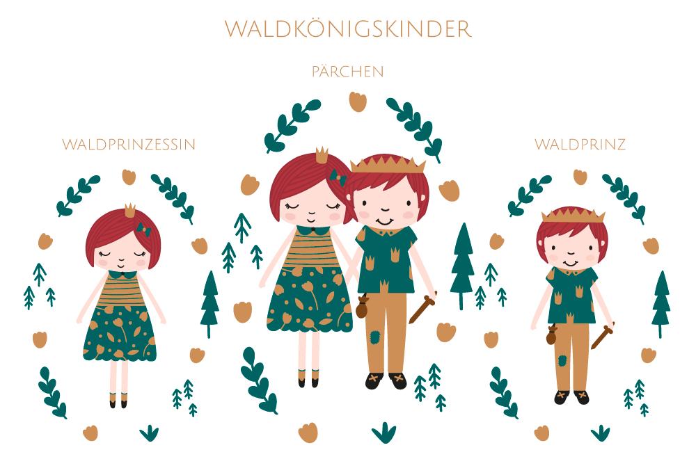 Waldkönigskinder   Plotterdatei   christinaa