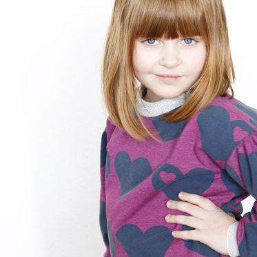 Vesper Sweater von Beletoile aus byGraziela Sweat Big Heart